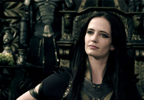 Eva Green as Artemisia in 300: Rise of an Empire