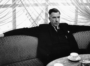 John Kenneth Galbraith at the Ritz Hotel in 1966