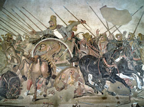 The Battle of Issus in 333 BC pitted Persian king Darius III against Alexander the Great.