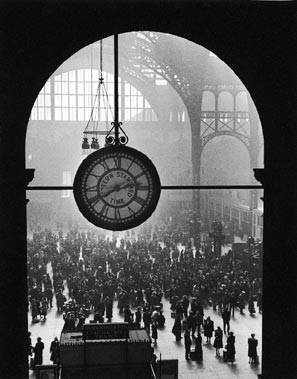 The destruction of the beautiful old Penn Station gave rise to the landmarking movement in New York.
