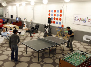 California-based Google opened a Manhattan branch to tap the city's pool of creative workers.