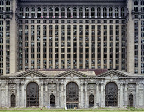 The abandoned Michigan Central Station, part of a rich architectural legacy that Detroit could reclaim
