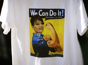 Palin has emerged as a favorite of the Tea Partiers, a majority of whom are women.