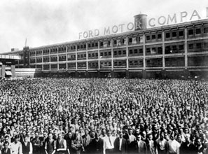 The entrepreneurial Henry Ford helped create an industry in Detroit that employed hundreds of thousands.