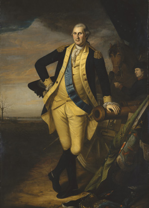Washington after the world-changing Battle of Trenton, painted by Charles Willson Peale, who marched with him through the long retreat to the Delaware River