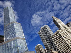 Chicago's leaders tout it as a global city.