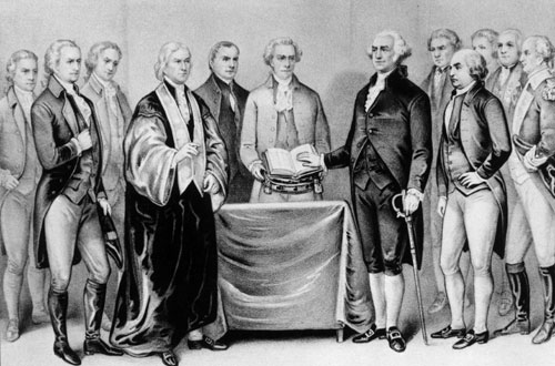 Once inaugurated as president on the balcony of New York's Federal Hall on April 30, 1789, Washington had to invent, out of his own judgment and experience, an office for which no precedents existed.