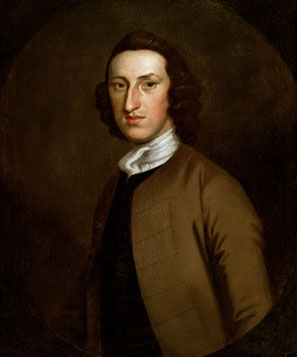 So thin in youth that he disparaged his 'spindle shanks,' along with his 'long-nosed, long-chin'd ugly looking appearance,' William Livingston in time acquired a 'dignified corpulence,' thanks to his love of oysters, lobsters, and only the best wine, 'at any Price.'