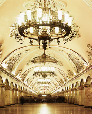 The opulent Moscow Underground
