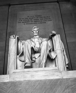 Daniel Chester French represented Lincoln as 'a man and not a god,' as journalist Andrew Ferguson put it.