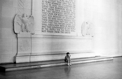 Lincoln's words, carved into the walls of the memorial, make it a monument to ideas, not just to a leader.