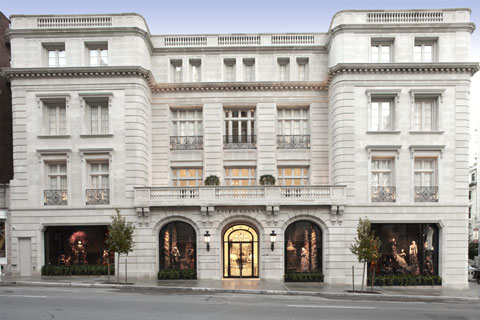 Ralph Lauren's delectable limestone palace on Madison Avenue embodies a French classicism so avant-garde that it never existed--until now.