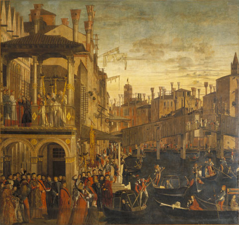 Opening a window onto the Venetian past: Carpaccio's The Healing of the Madman.