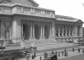 The library's iconic Main Building at Fifth Avenue and 42nd Street