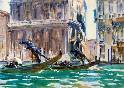 The Brooklyn Museum recently celebrated John Singer Sargent's sublime watercolors.