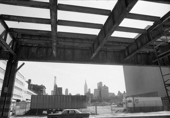 The West Side Highway was a symbol of decay in the early 1980s.
