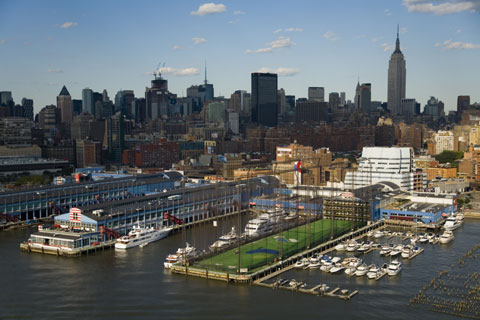 Private efforts spearheaded the development of Chelsea Piers, which draws 4 million visitors annually.