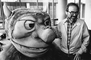 Author Sendak in 1985