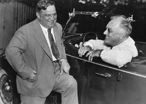 Mayor Fiorello La Guardia and President Franklin D. Roosevelt made New York the New Deal city.