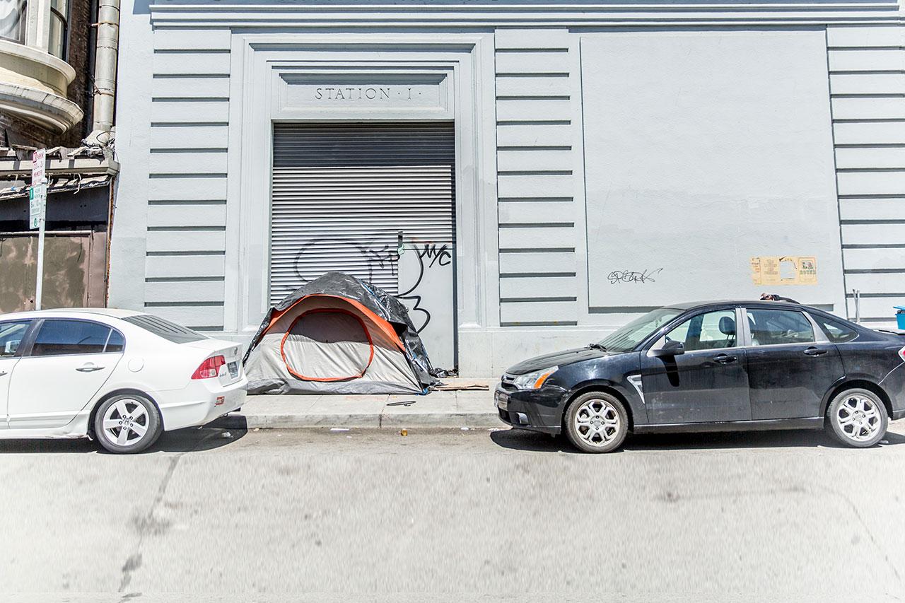 Mounting Disorder in San Francisco