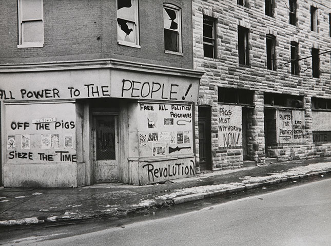 Baltimore's late sixties racial confrontations (Photo: Ullstein Bild - H. Christoph/Granger, NYC — All Rights Reserved)