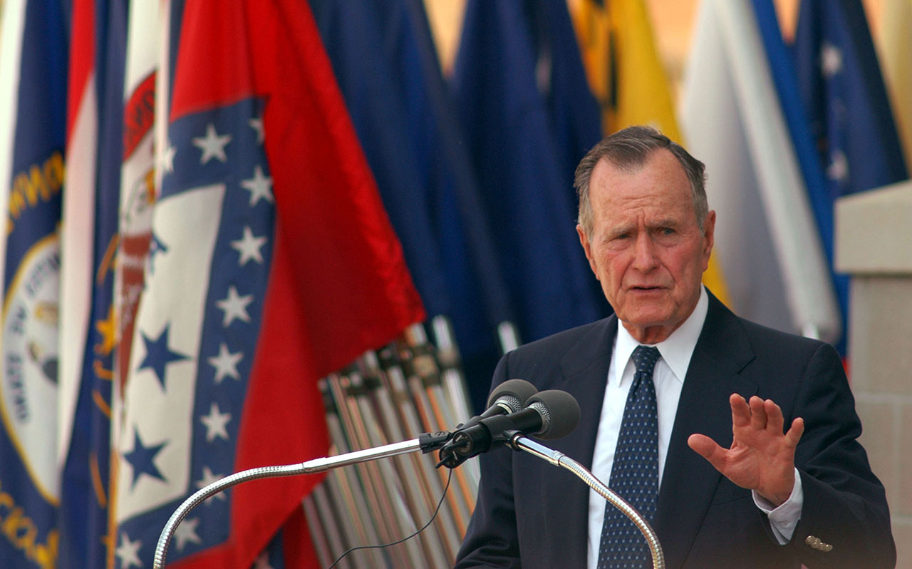 The Underestimated George H W Bush R I P Troy Tevi City Journal