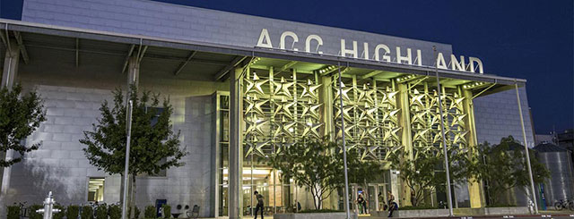 ACC Highland, a mixed-use workspace on the site of the former Highland Mall, in Austin, Texas