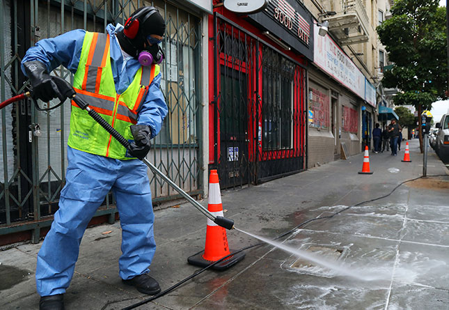 Last year, San Francisco officials received more than 80 calls a day reporting human feces on sidewalks and thoroughfares. (JIM WILSON/THE NEW YORK TIMES/REDUX)