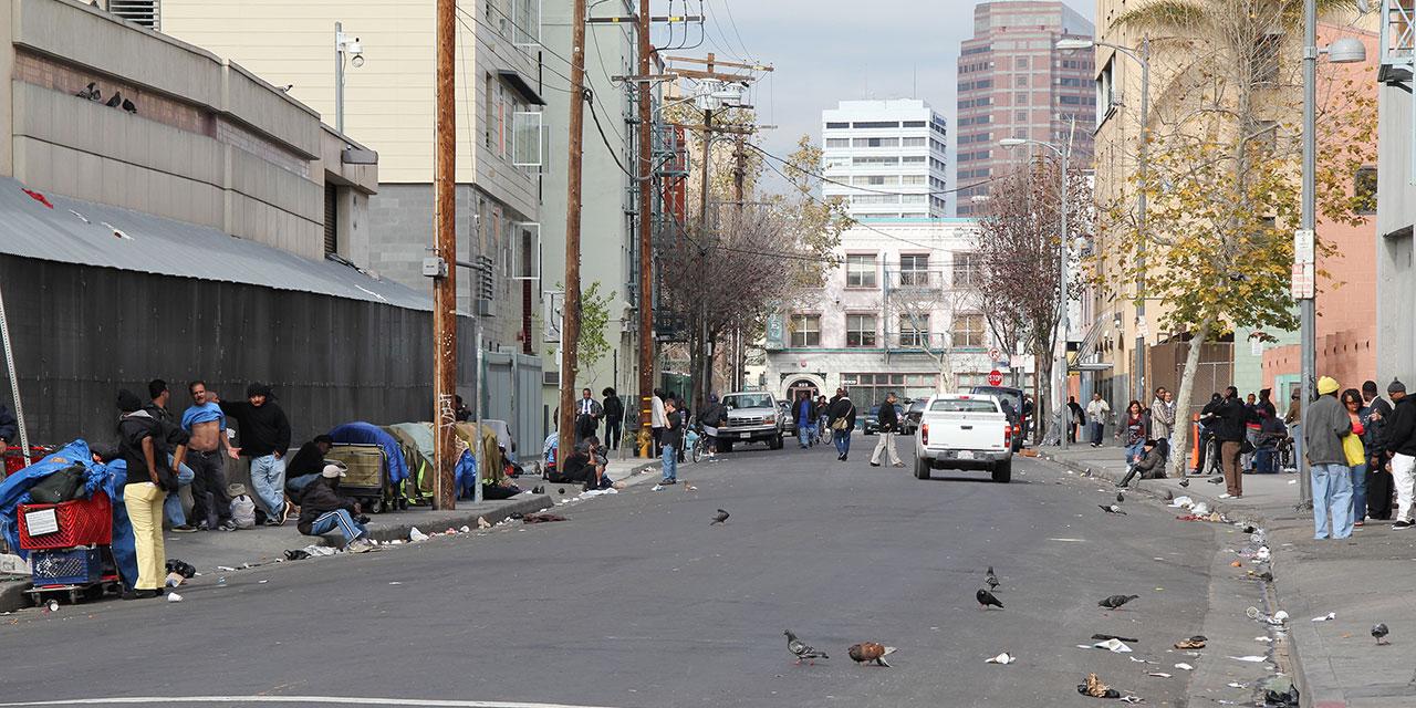 Skid Row's Addiction Epidemic