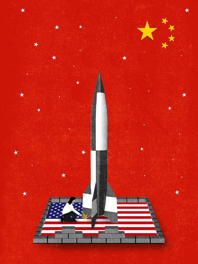 Venture Capital, China (Illustration by Patric Sandri)