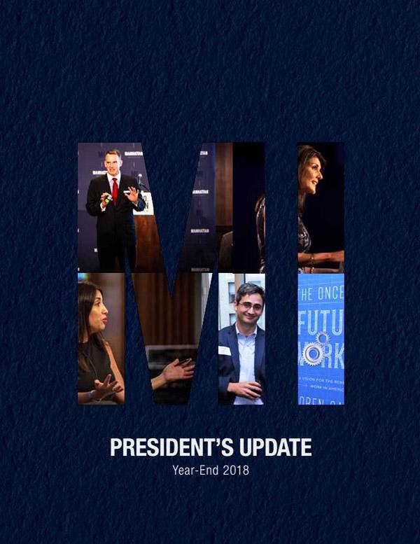 2018 MI's President's Update