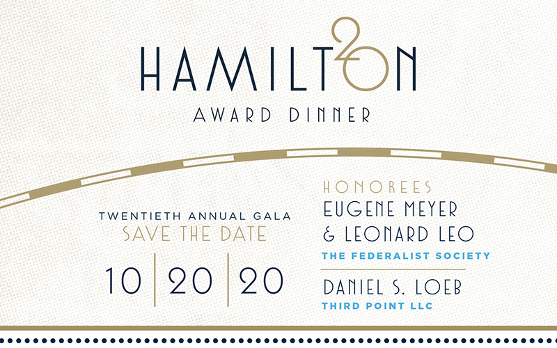 Alexander Hamilton Award