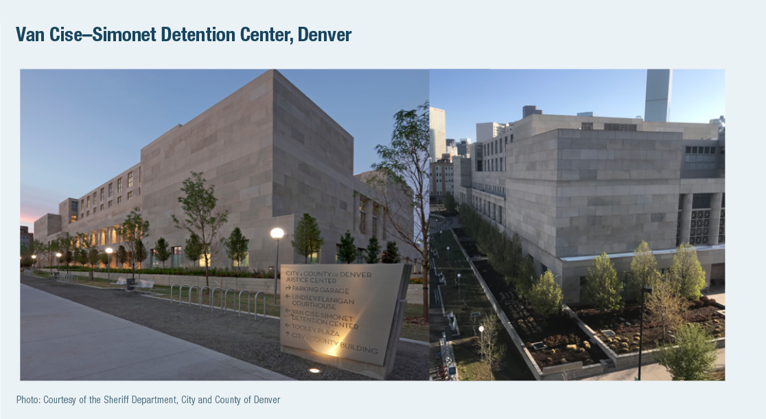 Van Cise–Simonet Detention Center, Denver