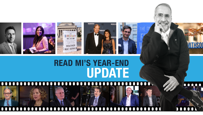Manhattan Institute's Year-End 2018 President's Update