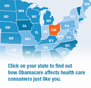 Obamacare Impact Map