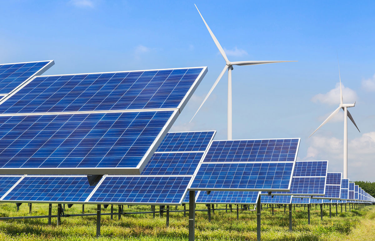 solar wind power microgrid