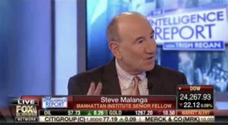 Steve Malanga with Fox Business' Trish Regan on GOP Tax