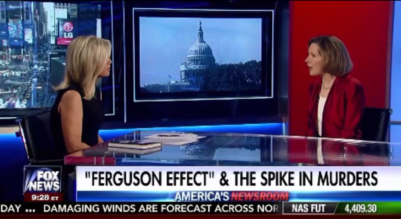 Heather Mac Donald on Fox News to Discuss 'The War on Cops