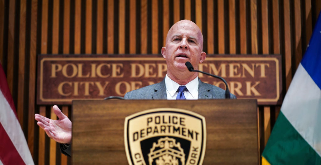 NYPD Commissioner James O'Neill Chose His Badge — Over