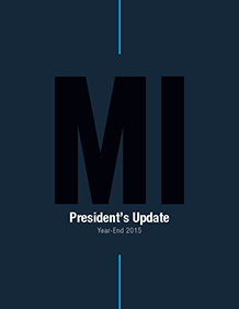 2015 Year-End President's Update